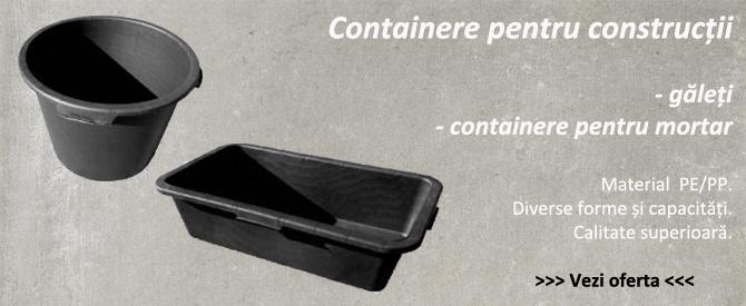 Containere pentru constructii