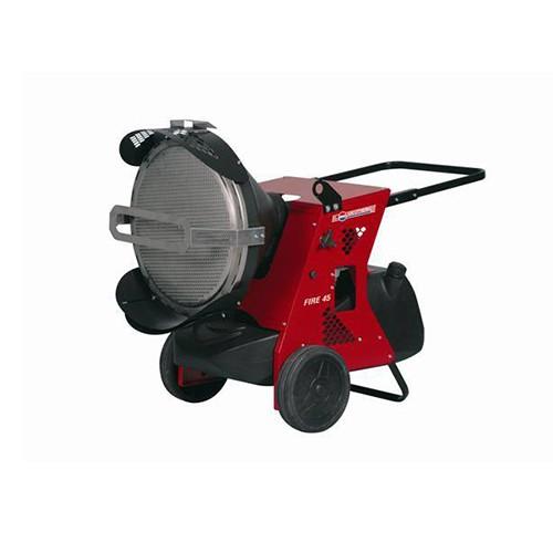 Generatoare aer cald cu raze infrarosii, pe motorina