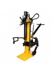 Despicator de lemne, vertical, ProGARDEN 12T, 400 V, 3300 W, 12 T, diametru max. 30 cm, lungime 104 cm