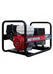 Generator de sudura AGT WAGT 200 DC HSB, 4 kVA, monofazat, benzina, max. 200 A