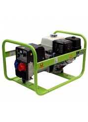 Generator de sudura Pramac W220, 6.1 kVA, trifazat, benzina, max. 220 A