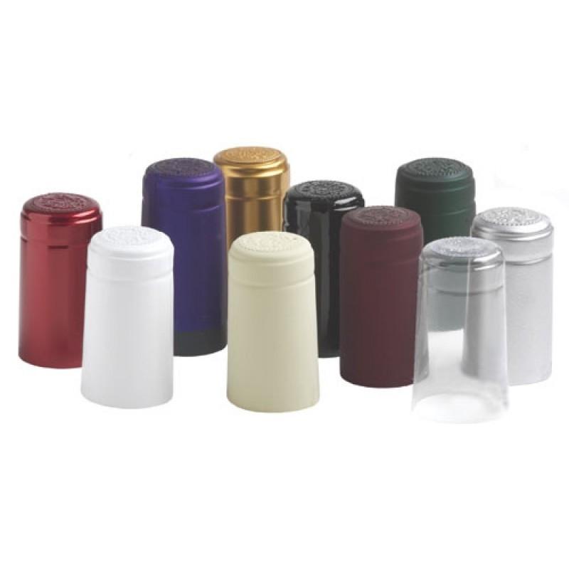 Capisoane termocontractibile din PVC, 31x60 mm