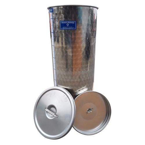Cisterna din inox cu capac flotant cu ulei MARCHISIO SPO100A, 100 L