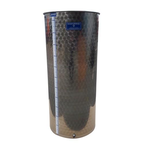 Cisterna inox Marchisio SPO200A, 200 litri, capac flotant cu ulei, 477x1200 mm