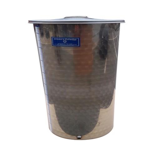 Cisterna inox cu capac flotant cu ulei Marchisio SPO80, 80 L