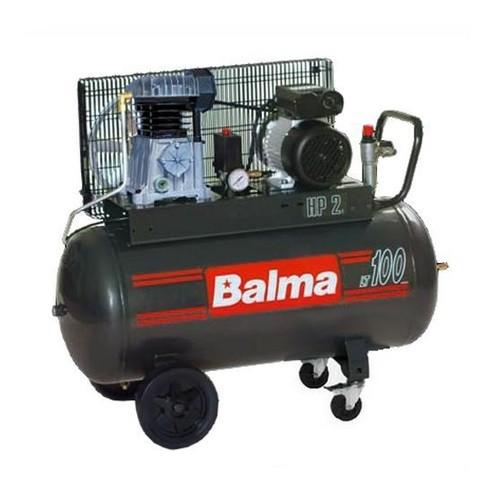 Compresor de aer Balma NS12S/100 CM3, 230 V, 2.2 kW, 320 l/min, 10 bar, 100 l