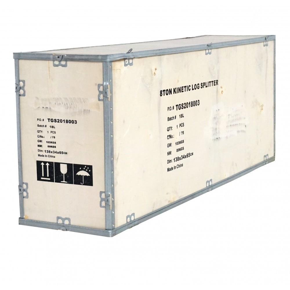 Despicator cinetic de lemne, orizontal, ProGarden BT-EK8T, 230 V, 2000 W, 8 T, diametru max. 35 cm, lungime 52 cm