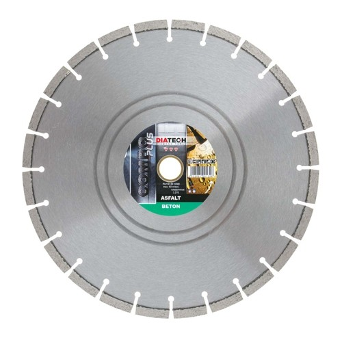 Disc diamantat asfalt/beton DIATECH ROAD COMBO PLUS 350 x 30/25.4 mm