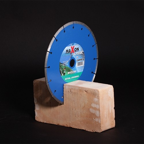 Disc diamantat materiale de constructii MAXON SEGMENTAT, Ø 350 mm