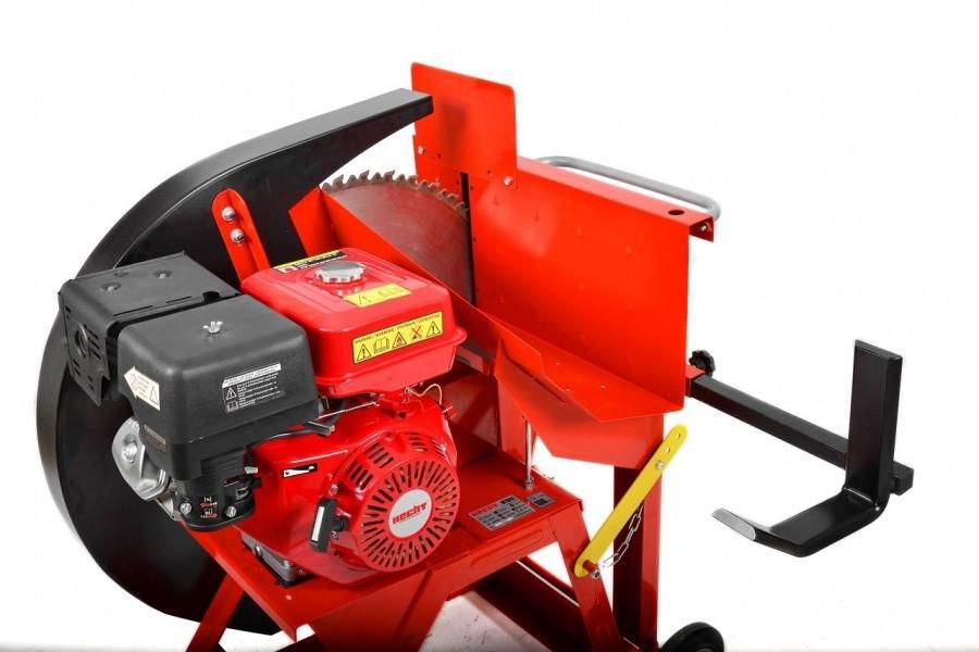 Fierastrau circular pentru busteni HECHT 890, 13 CP, benzina, diametru maxim 230 mm