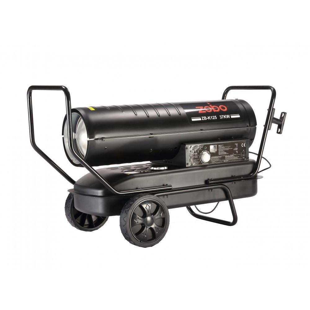 Generator de aer cald, pe motorina, ardere directa, Zobo ZB-K125, 37 kW, rezervor 38 L