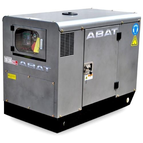 Generator de curent insonorizat, trifazat ABAT 12AD3, 13.75 kVA, diesel, pornire electrica, Automatizare