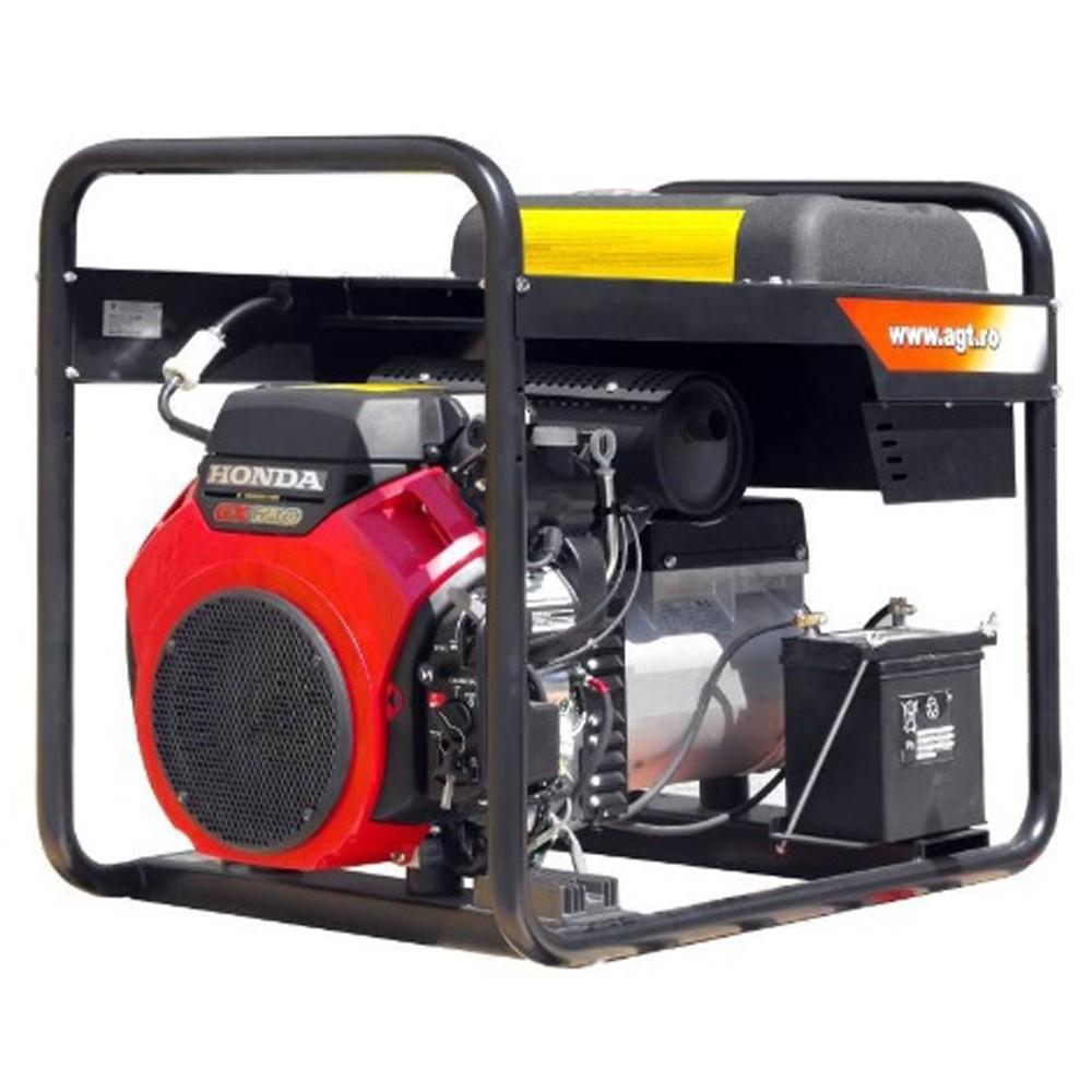 Generator de curent trifazat AGT 16503 HSBE R16, Honda GX690, 15.5 kVA (400V) / 6.4 kVA (230V), benzina, rezervor 16 litri