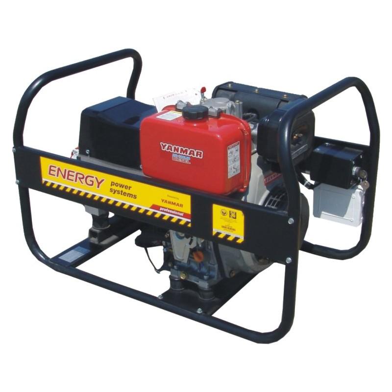 Generator de sudura Energy 220 WTD, Yanmar L100, 6.5 kVA, 40-220 A, diesel