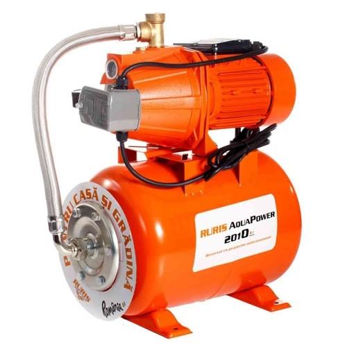Hidrofor Ruris AquaPower 2010, 900 W, 3120 l/h, Hmax. 50 m, 24 l, pompa fonta
