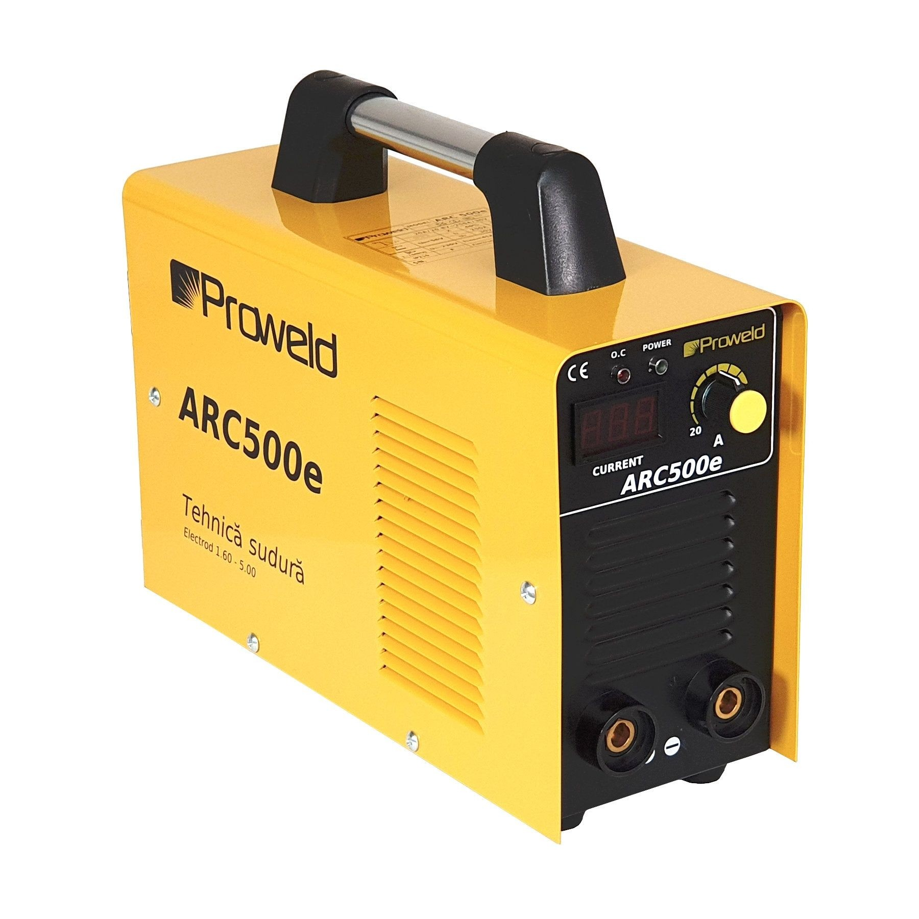 Invertor de sudura ProWELD ARC500e, 230 V, 20-250 A, electrod max. 5 mm, valiza transport