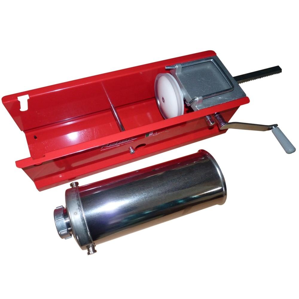 Masina de umplut carnati manuala Reber 8950 N, 5 kg, 2 viteze