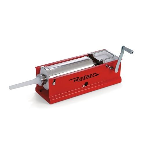 Masina de umplut carnati manuala Reber 8951 N, 8 kg, 2 viteze