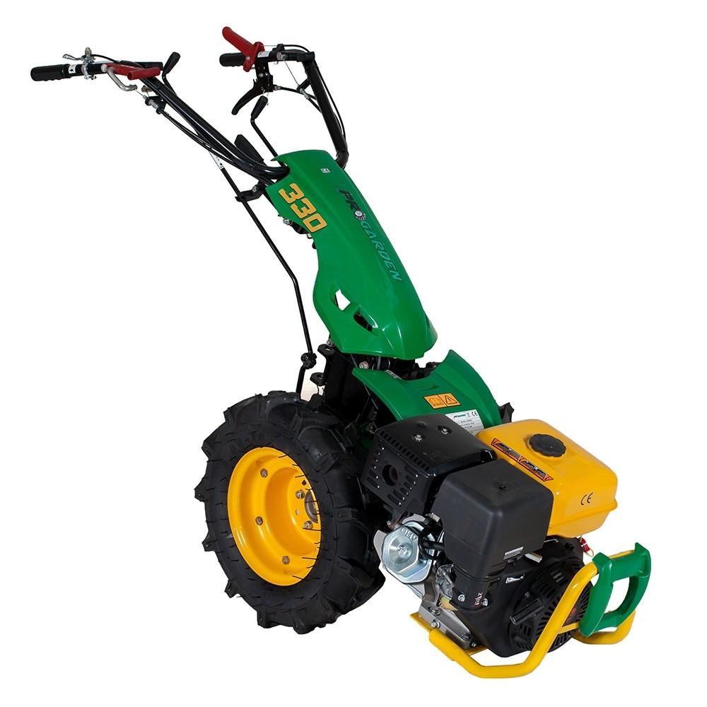 Pachet Motocultor multifunctional ProGarden BT330/G177, 9 CP, benzina + Bara de cosire 120 cm + Ulei motor + Ulei transmisie