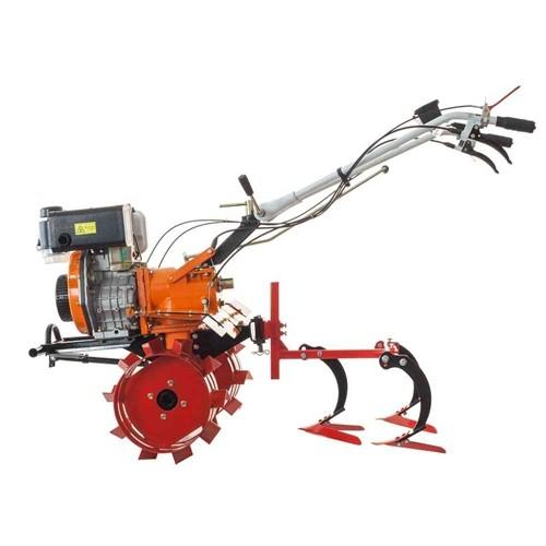 Motosapa Ruris 650KSD, 6 CP, diesel, 100 cm + roti cauciuc + roti metalice + plug bilonat