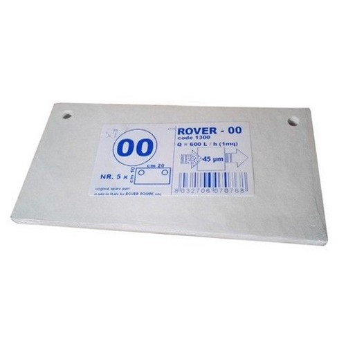 Placi filtrante 20x10 cm ROVER 00 Oil, degrosare ulei