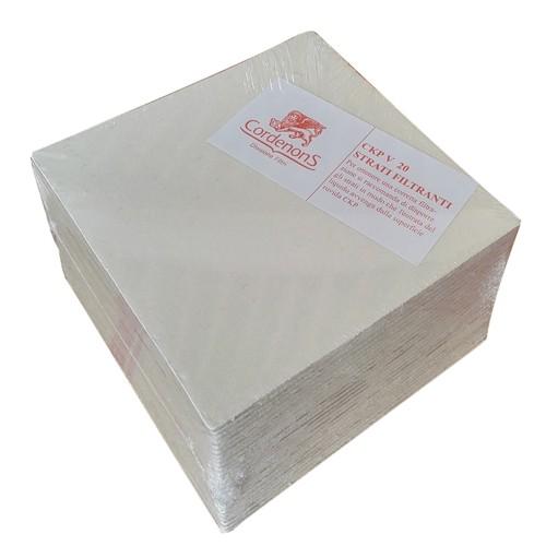Placi filtrante 20x20 cm CKP V20, filtrare fina