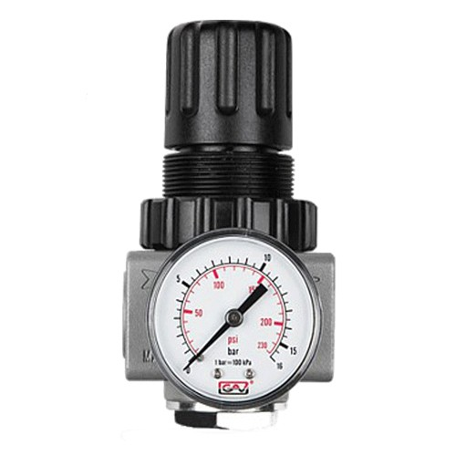 "Regulator de presiune cu manometru GAV R-300, 1"", 0-12 bar"