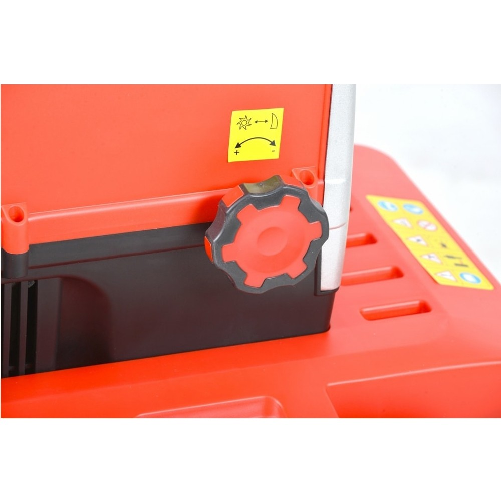 Tocator de gradina electric Hecht 6285 XL, 2800 W, 44 mm