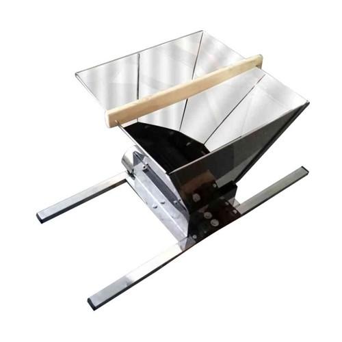 Zdrobitor de struguri manual Ruris SS30, 10 kg/h, cuva inox