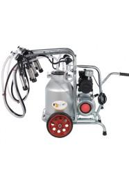 Aparat de muls vaci EMT 2+1A30, 2 posturi, 1 bidon aluminiu 30 l