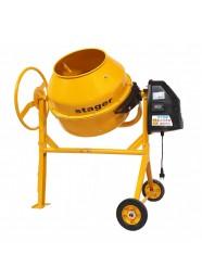 Betoniera Stager 74540, 230 V, 650 W, 160 L
