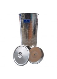 Cisterna din inox MARCHISIO SPO150, 150 litri + Capac flotant cu parafina, Capac antipraf + Robinet