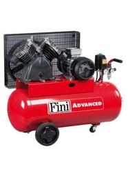 Compresor de aer Fini MK103-150-3M, 230 V, 2.2 kW, 365 l/min, 10 bar, 150 l