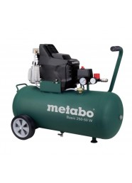 Compresor de aer Metabo Basic 250-50 W, 230 V, 1.5 kW, 200 l/min, 8 bar, 50 L