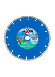 Disc diamantat segmentat Maxon MSZ230C, 230 x 22.2 x 2.6 mm