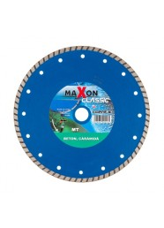 Disc diamantat turbo Maxon MT300C, 300 x 30/25.4 x 3.2 mm