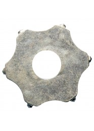Disc steluta scarificator Bisonte MSB, 6 capete