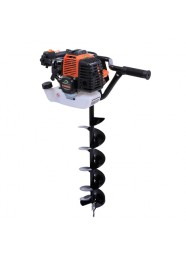 Foreza de pamant GREENFIELD G-MB52_150P2, motor 2 timpi, 52 cm3, 2 CP + burghiu 150 mm