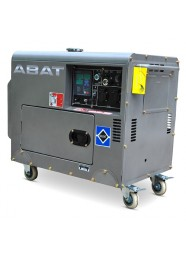 Generator de curent insonorizat, monofazat ABAT 7500AD, 6 kVA, diesel, pornire electrica, Automatizare