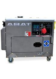 Generator de curent insonorizat, trifazat ABAT 7500AD3, 7.5 kVA, diesel, pornire electrica, Automatizare