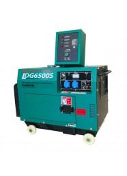 Generator de curent monofazat GREENFIELD LDG6500S_A, motor 4 timpi, diesel, 13 CP, 5.5 kVA + Automatizare