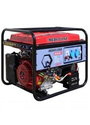 Generator de curent monofazat Media Line MLG 6500E/1, 6.5 kVA