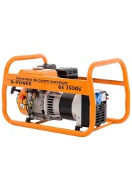 Generator de curent electric Ruris R-POWER GE 2500S, 2500 W, monofazat, benzina