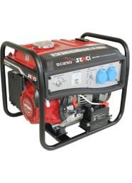Generator de curent electric Senci SC-1250E, 1000 W, monofazat, benzina, pornire electrica