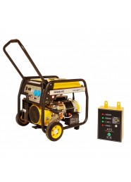 Generator de curent monofazat STAGER FD 6500E+ATS, 5.5 kW, benzina, pornire electrica, Automatizare