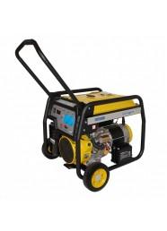 Generator de curent electric Stager FD 7500E, 6500 W, monofazat, benzina, pornire electrica