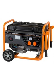 Generator de curent electric Stager GG 6300W, 5500 W, monofazat, benzina