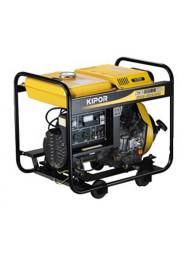 Generator de curent trifazat Kipor KDE 6500 X3, 6 kVA, motor 4 timpi, diesel
