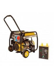 Generator de curent trifazat STAGER FD 10000E3+ATS, 8.5 kW, benzina, pornire electrica, Automatizare