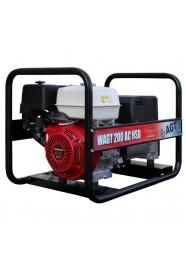 Generator de sudura monofazat AGT WAGT 200 AC HSB, 7 kVA, 200 A